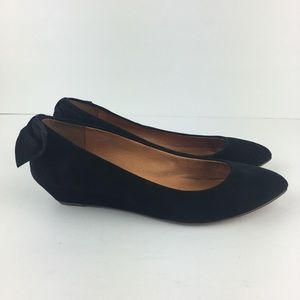 Madewell 1937 Footwear Black Wedge Flats